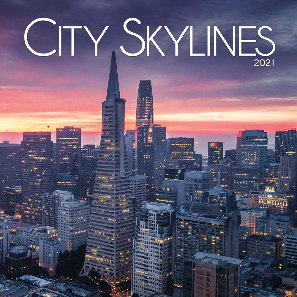 City Skylines Wall Calendar Calendars Com