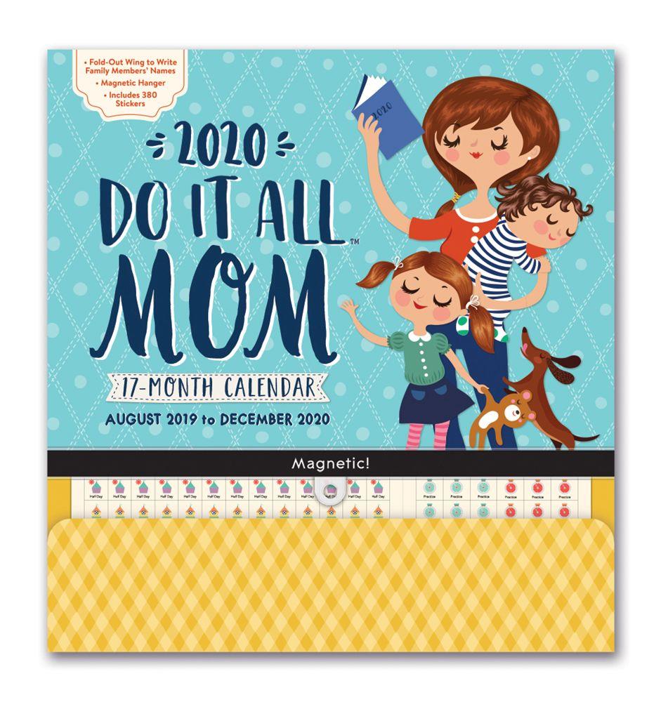 Mom Do It All 2021 Pocket Wall Calendar