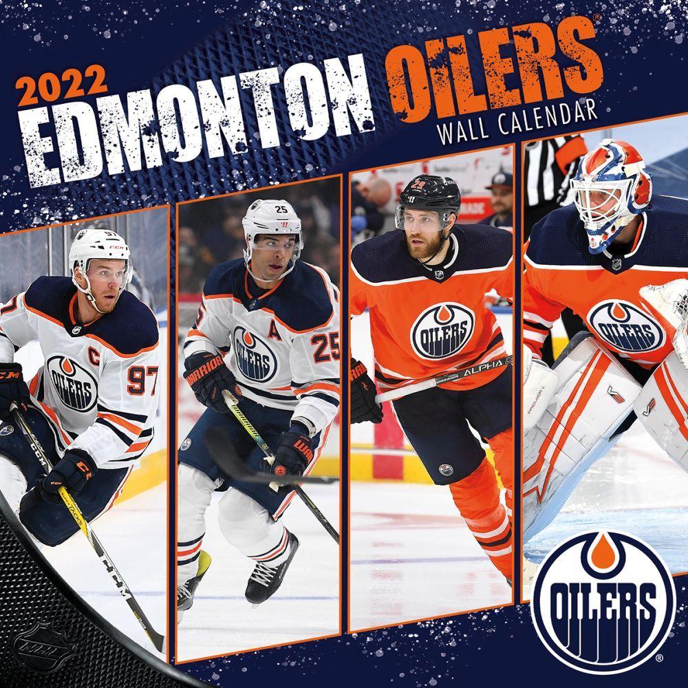Edmonton Oilers 2022 Wall Calendar