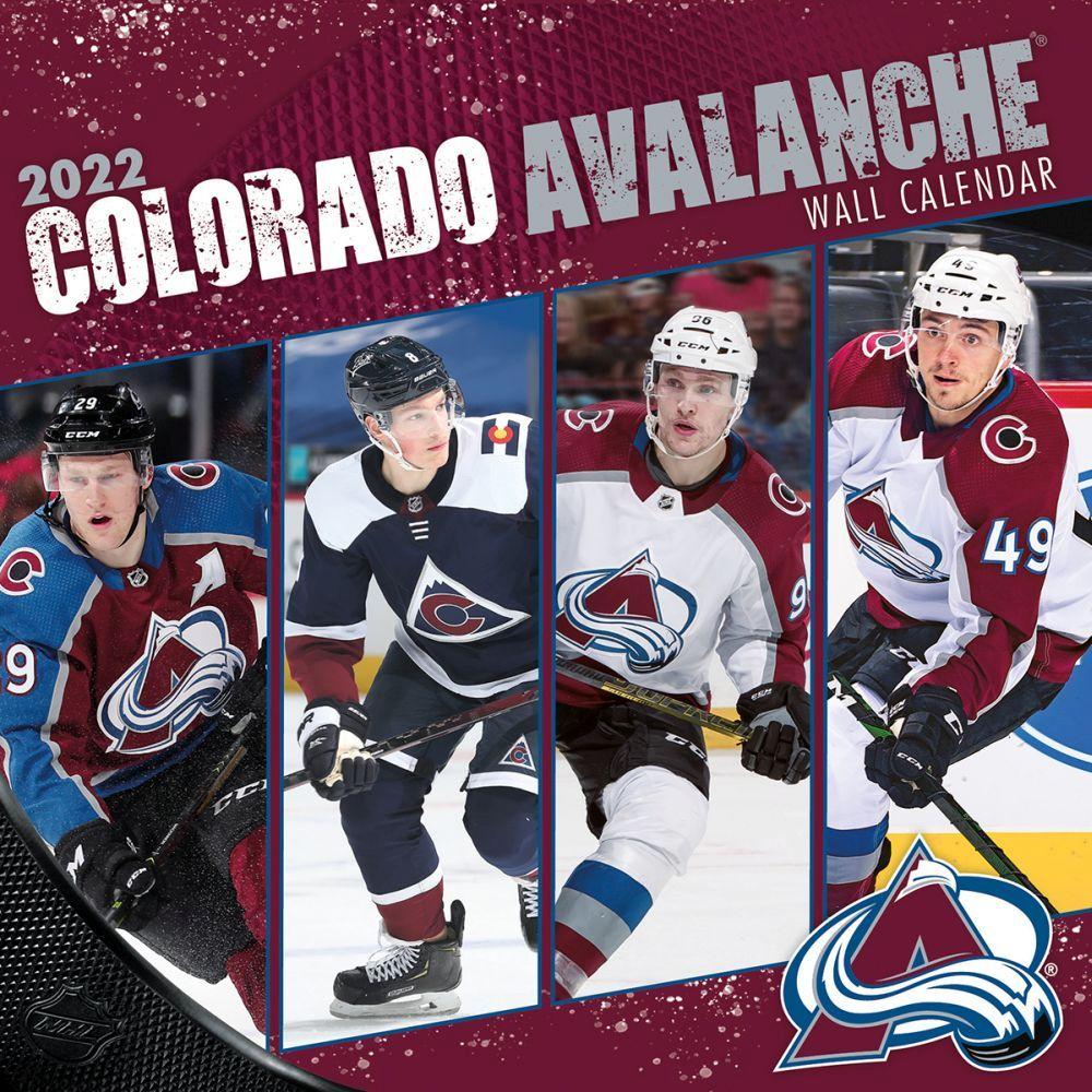 Colorado Avalanche 2022 Wall Calendar