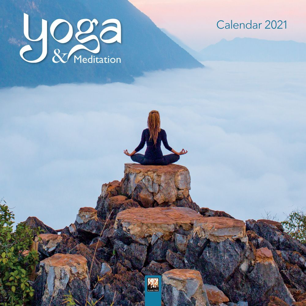 2021 Yoga and Meditation Wall Calendar