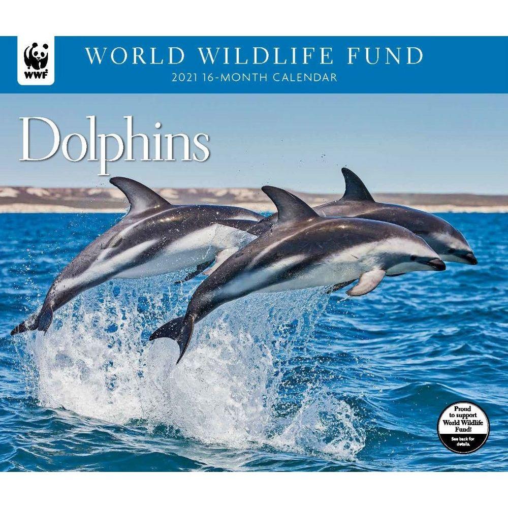 Dolphins WWF 2021 Wall Calendar
