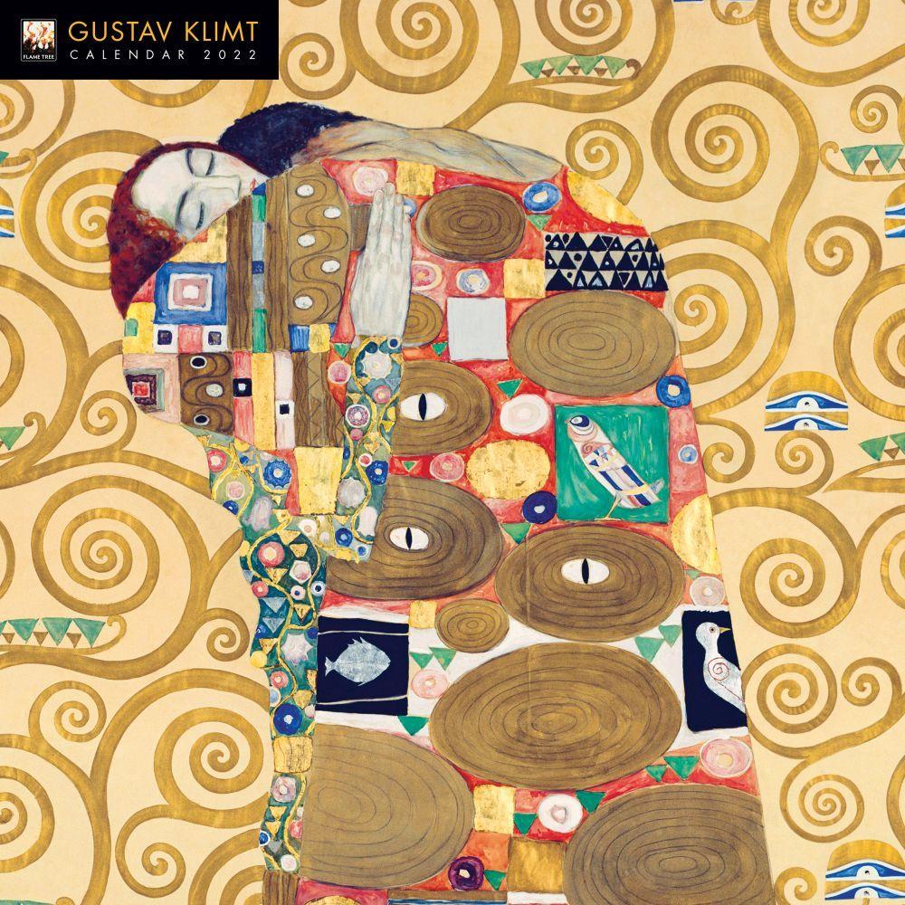 Gustav Klimt 2022 Wall Calendar