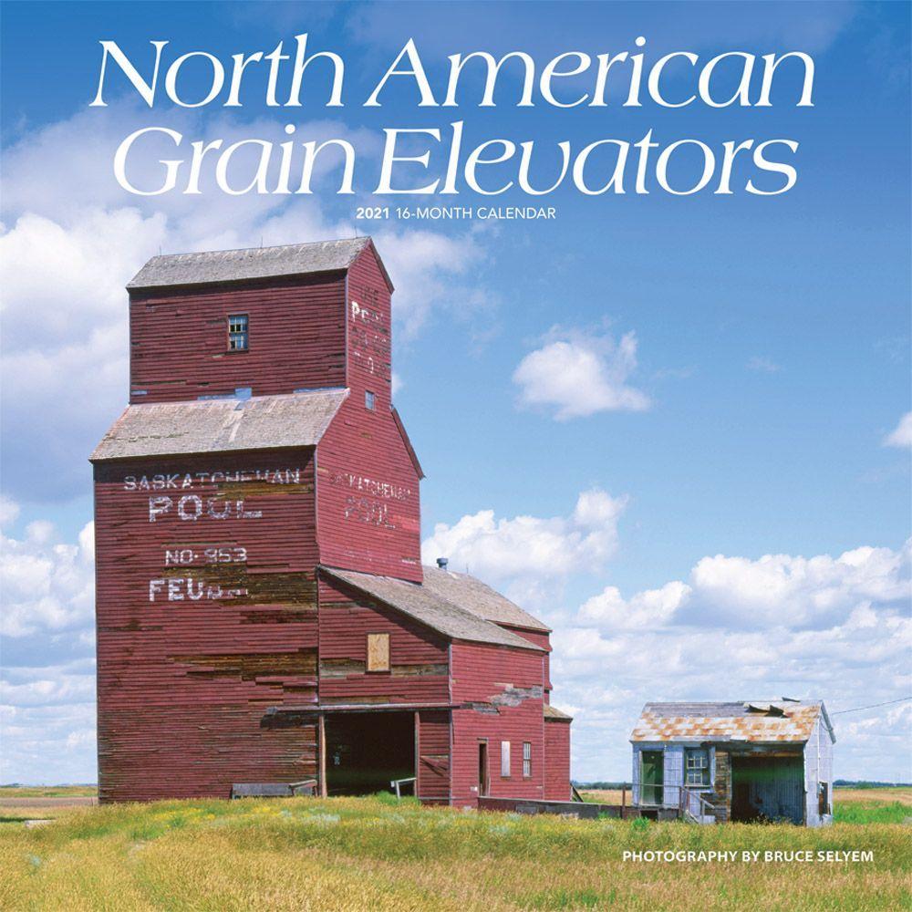 North American Grain Elevators 2021 Wall Calendar