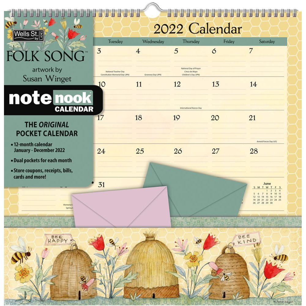 Folk Song 2022 Note Nook