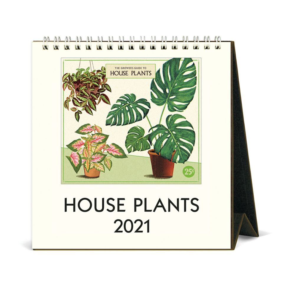 2021 House Plants Easel Calendar