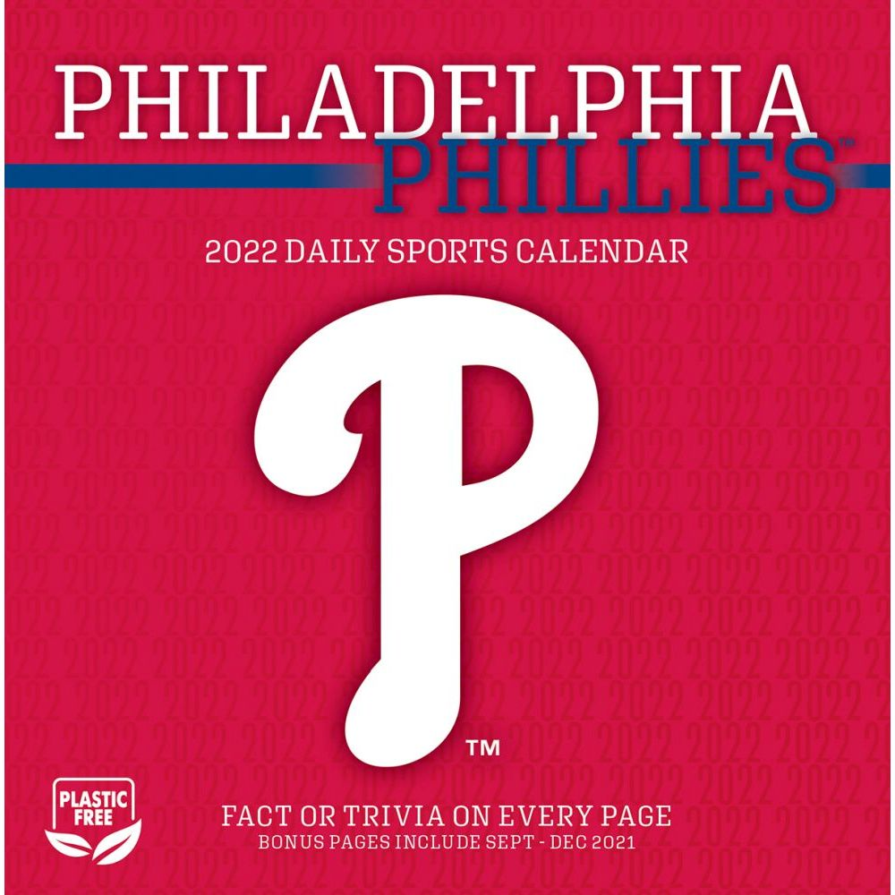 Philadelphia Phillies 2022 Desk Calendar