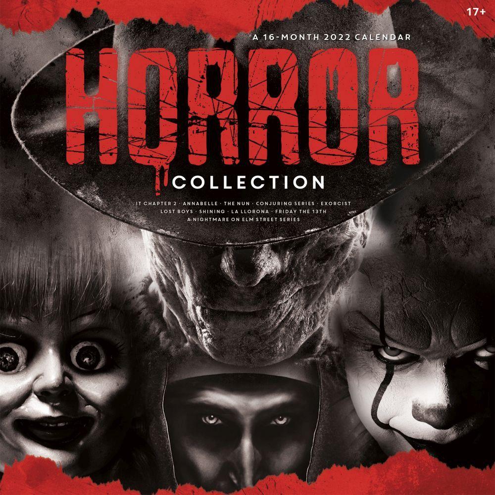 Horror Collection 2022 Wall Calendar