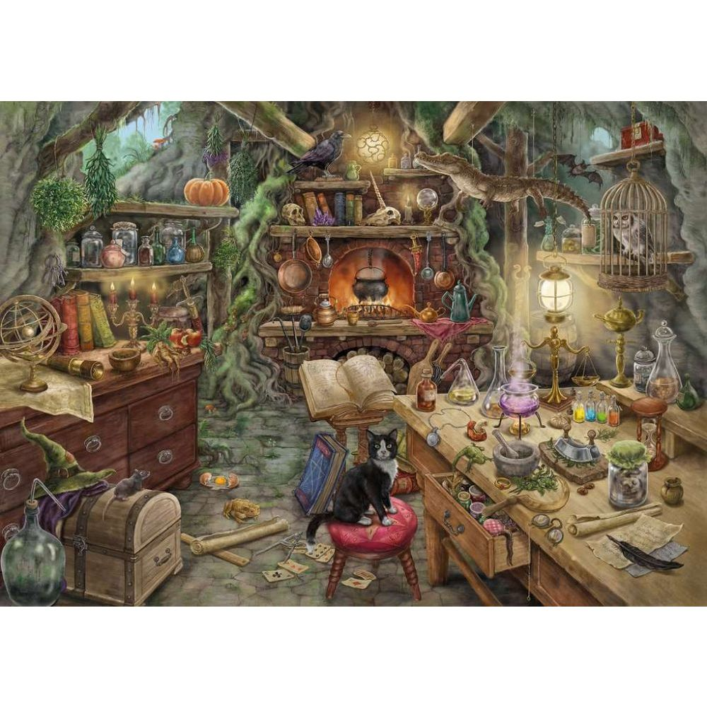 Best Escape Room Witchs Kitchen 756pc Puzzle You Can Buy