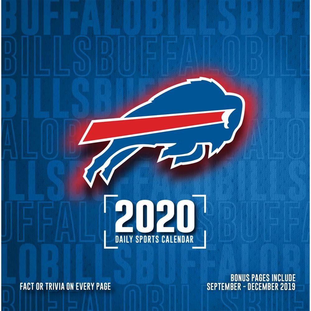 Buffalo Bills 2021 Desk Calendar