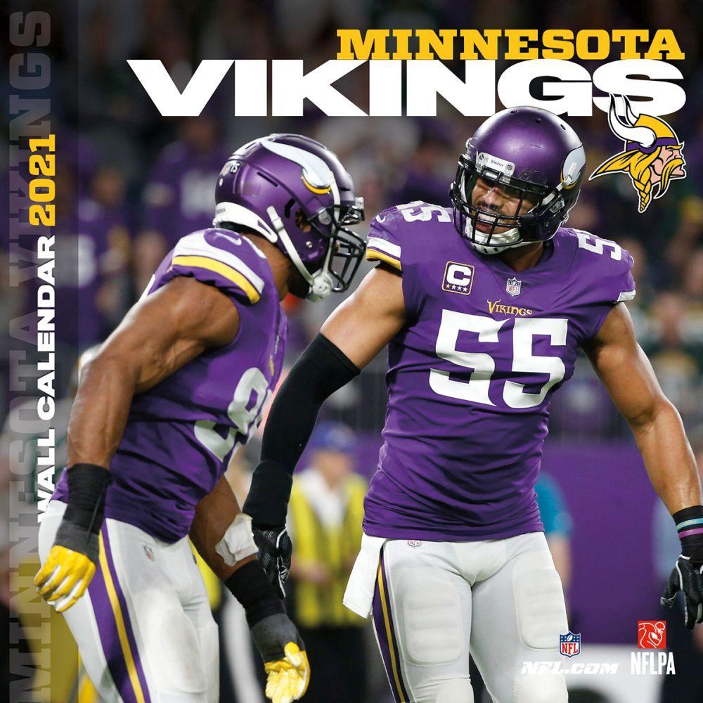 Minnesota Vikings 2021 Wall Calendar