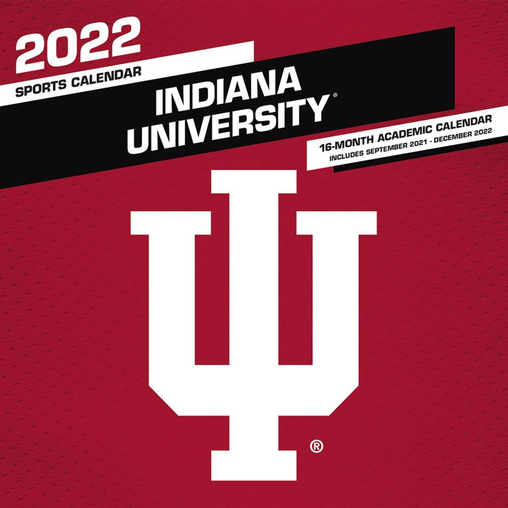 Indiana University Hoosiers 2022 Wall Calendar