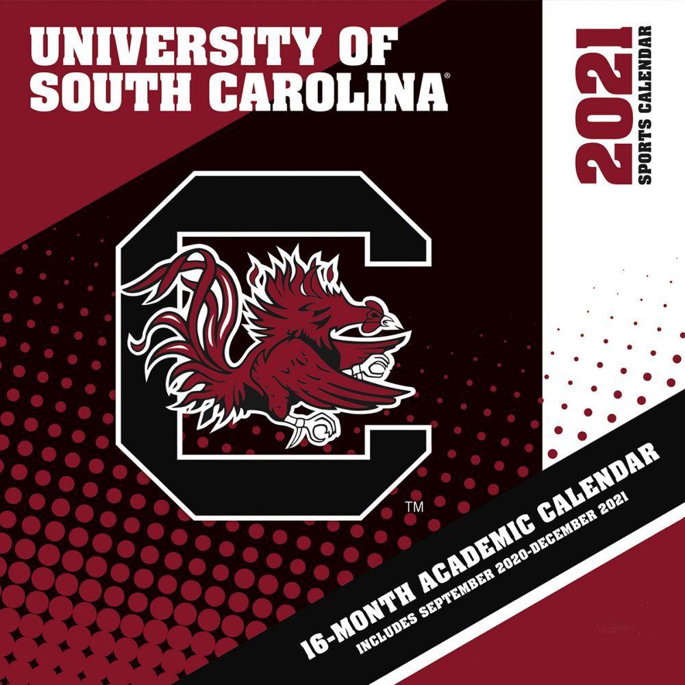 University of South Carolina Gamecocks 2021 Wall Calendar