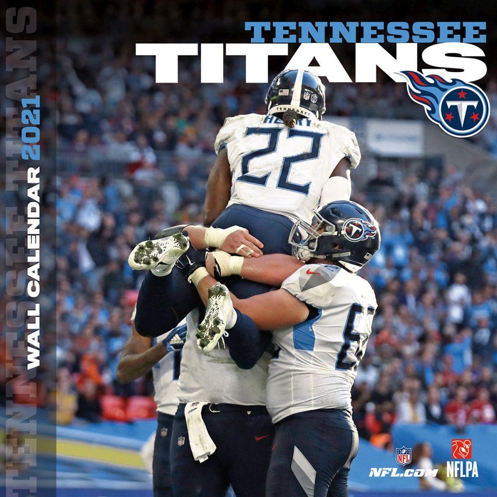 Tennessee Titans 2021 Wall Calendar