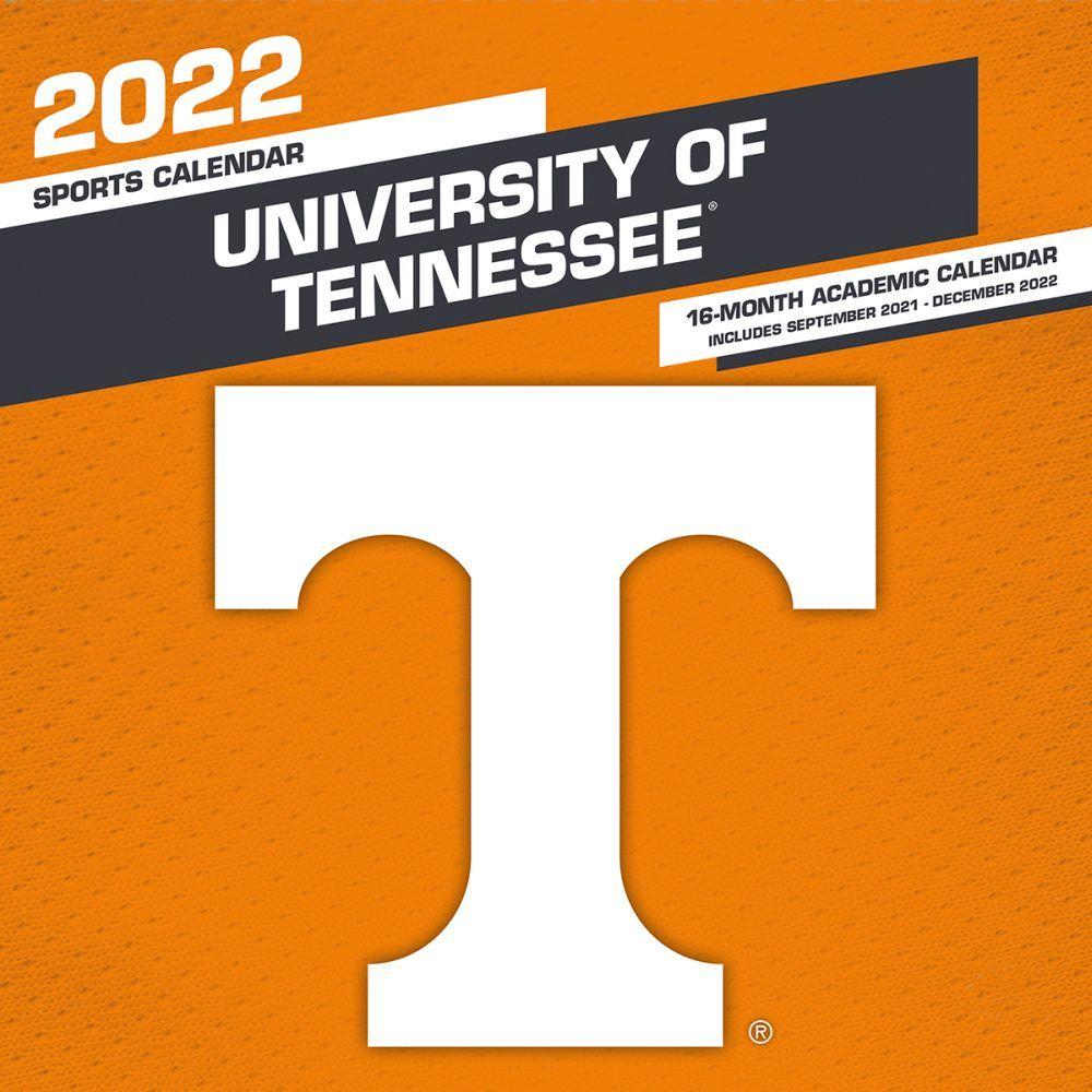 University of Tennessee Volunteers 2022 Wall Calendar