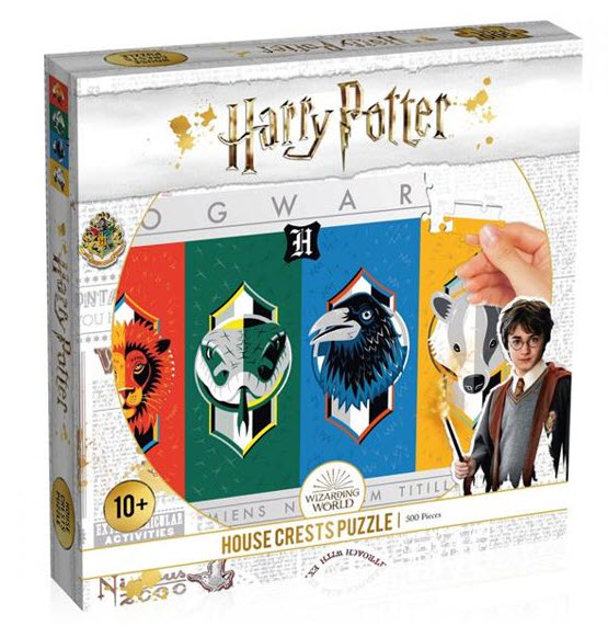 Best Harry Potter House Crests 500pc Puzzle You Can Buy
