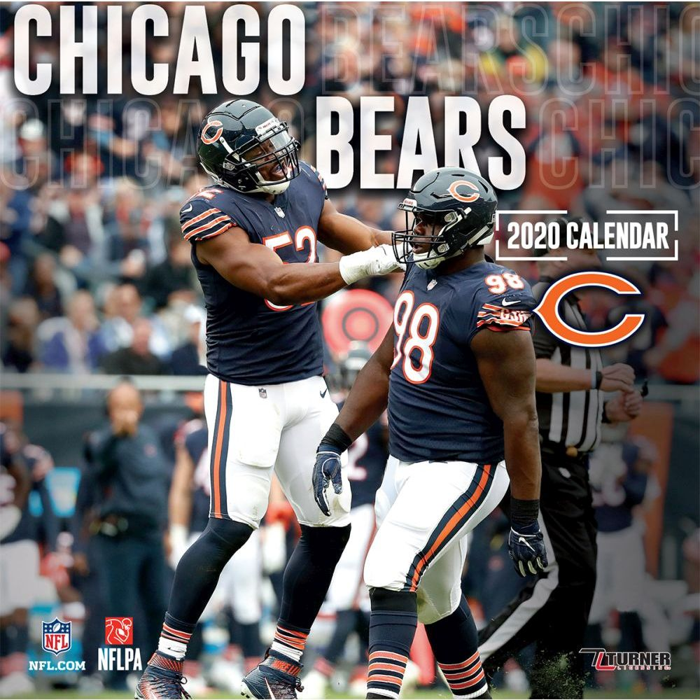 Chicago Bears 2021 Wall Calendar
