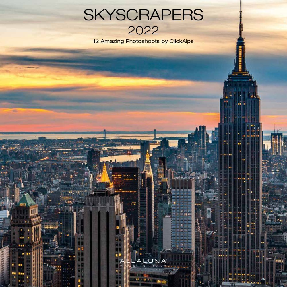 Skyscrapers 2022 Wall Calendar