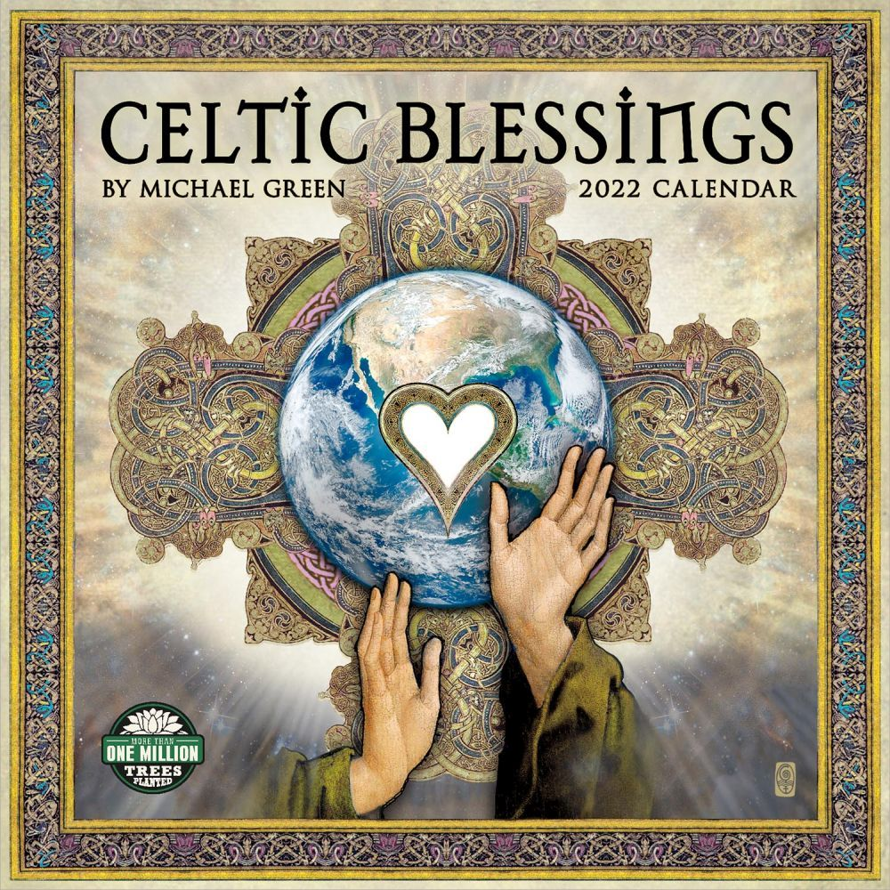 Celtic Blessings 2022 Wall Calendar