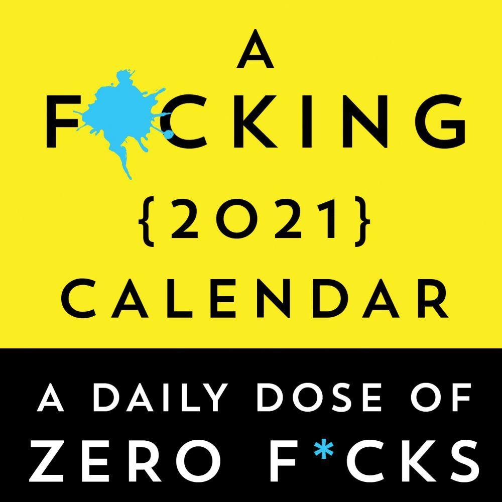 2021 F*cking Desk Calendar