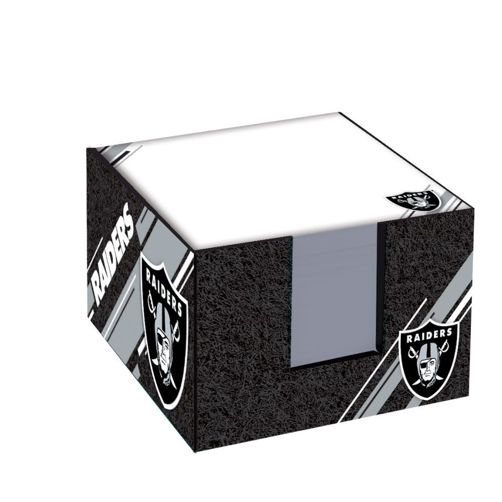 NFL-Raiders-Note-Cube-W/-Holder-1