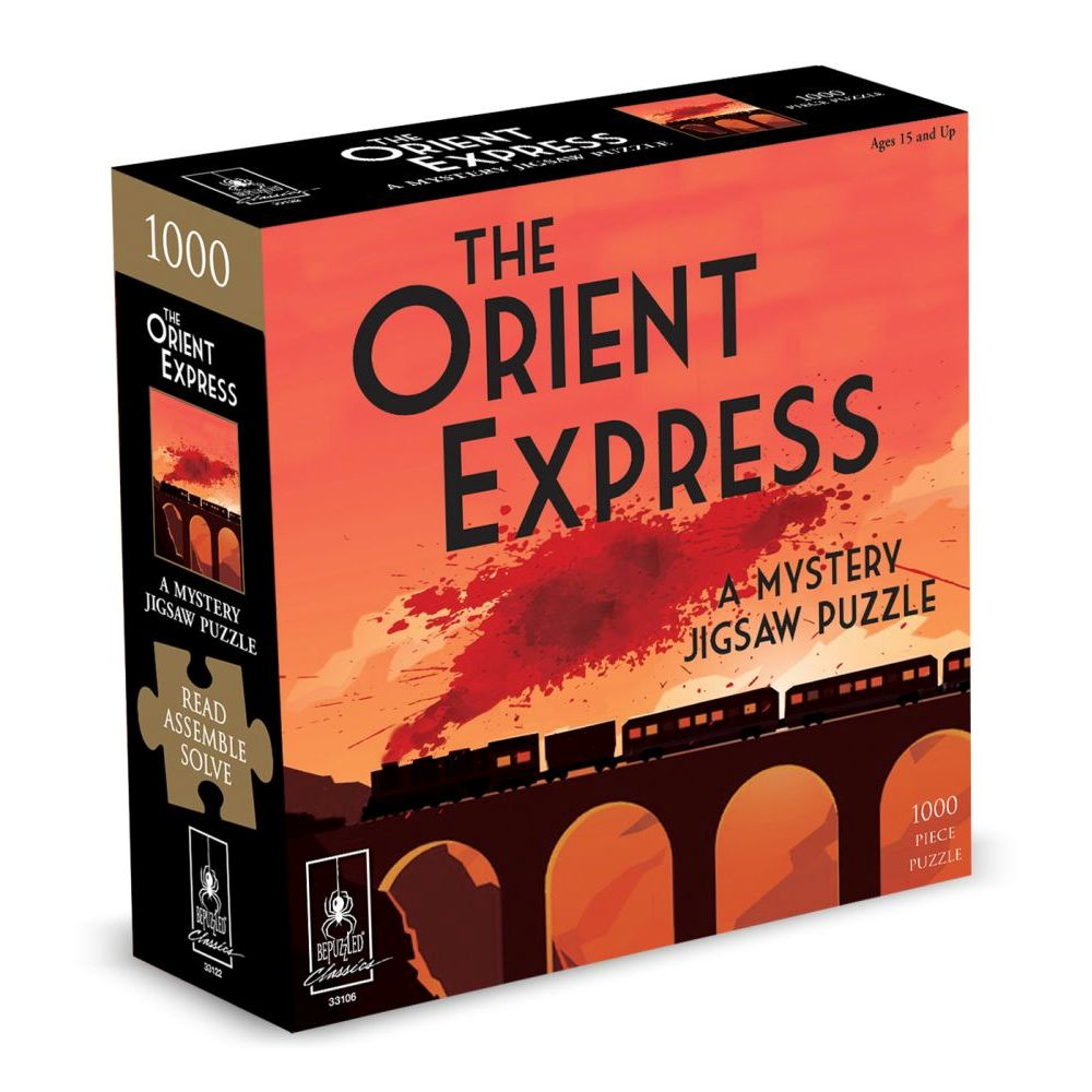 Best Orient Mystery 1000pc Puzzle You Can Buy