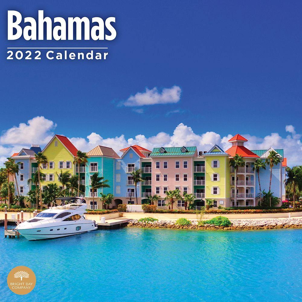 Bahamas 2022 Wall Calendar