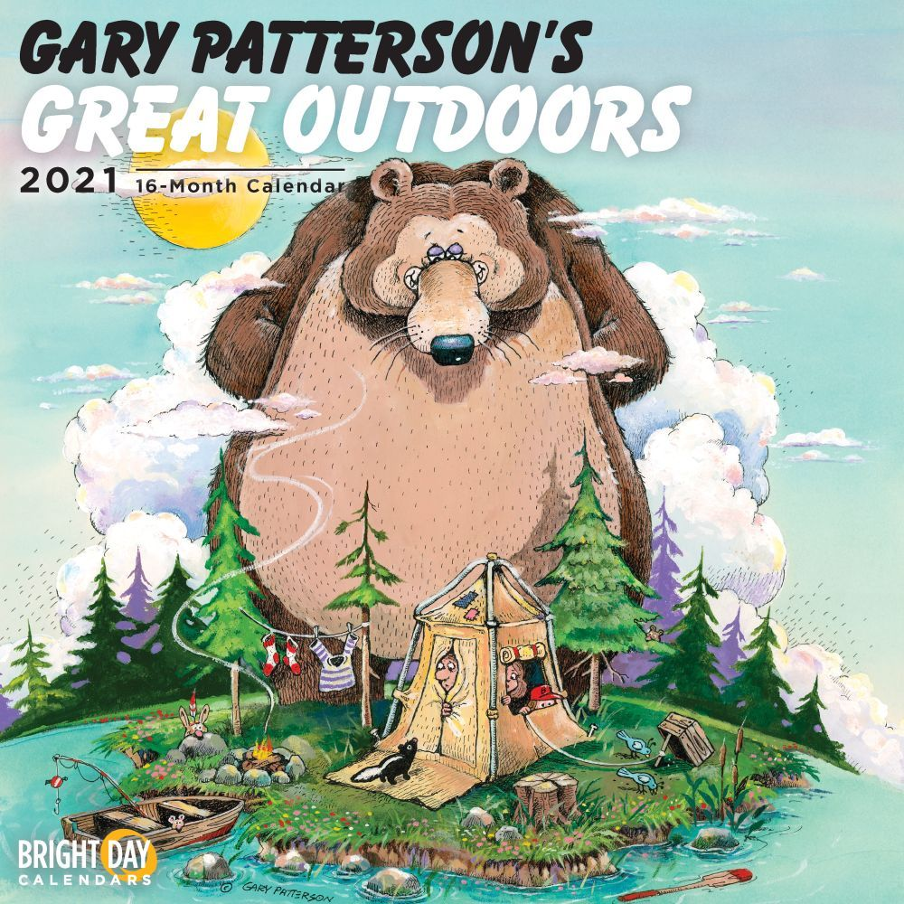 2021 Patterson Great Outdoors Wall Calendar