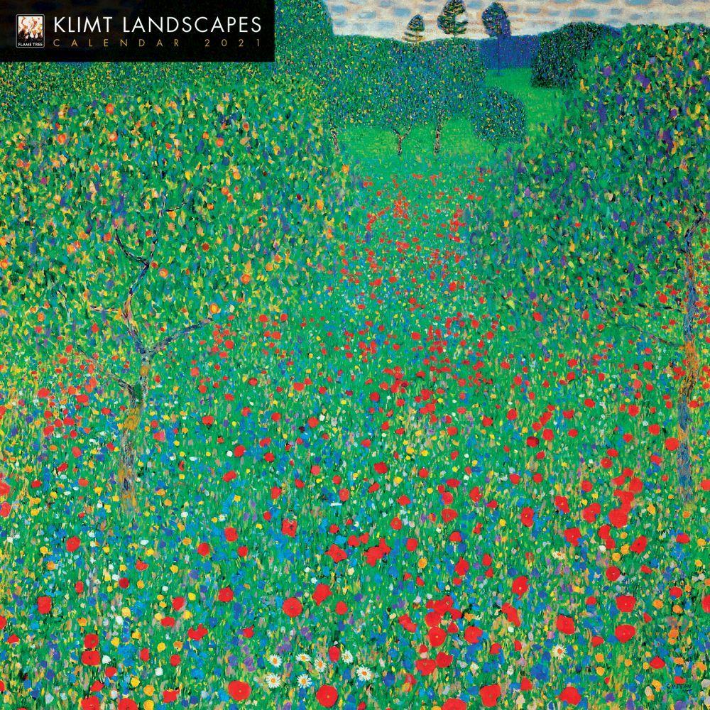2021 Landscapes Klimt Wall Calendar