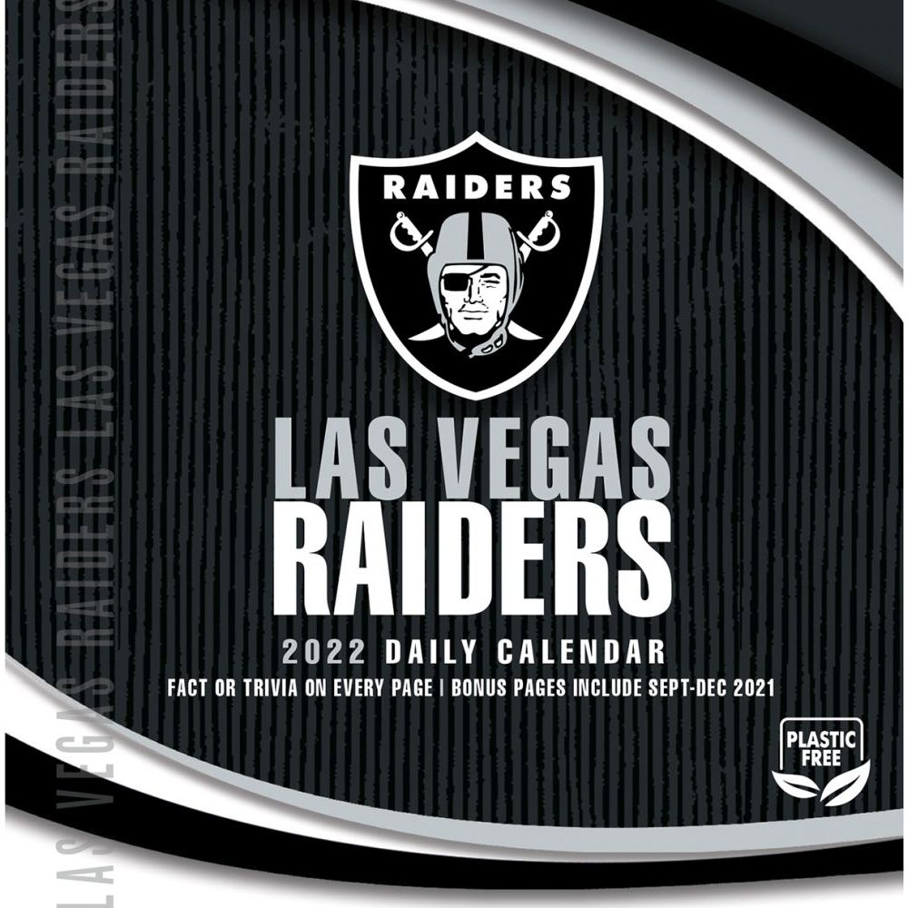 Las Vegas Raiders 2022 Desk Calendar