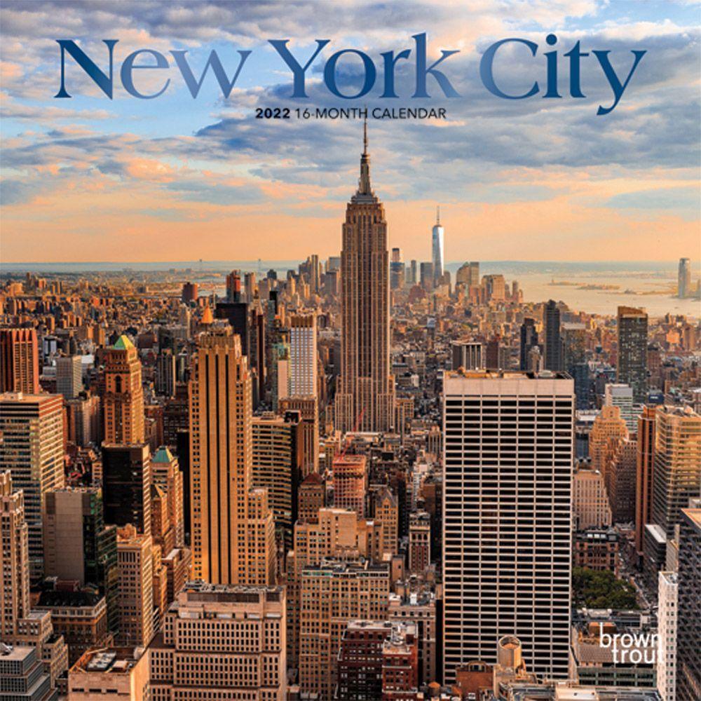 New York City 2022 Mini Wall Calendar