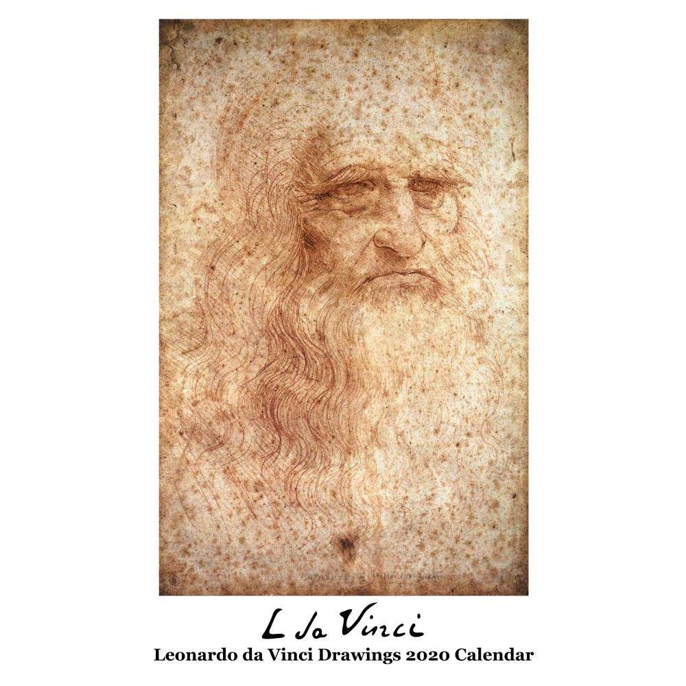 Leonardo Da Vinci Drawings 2021 Wall Calendar