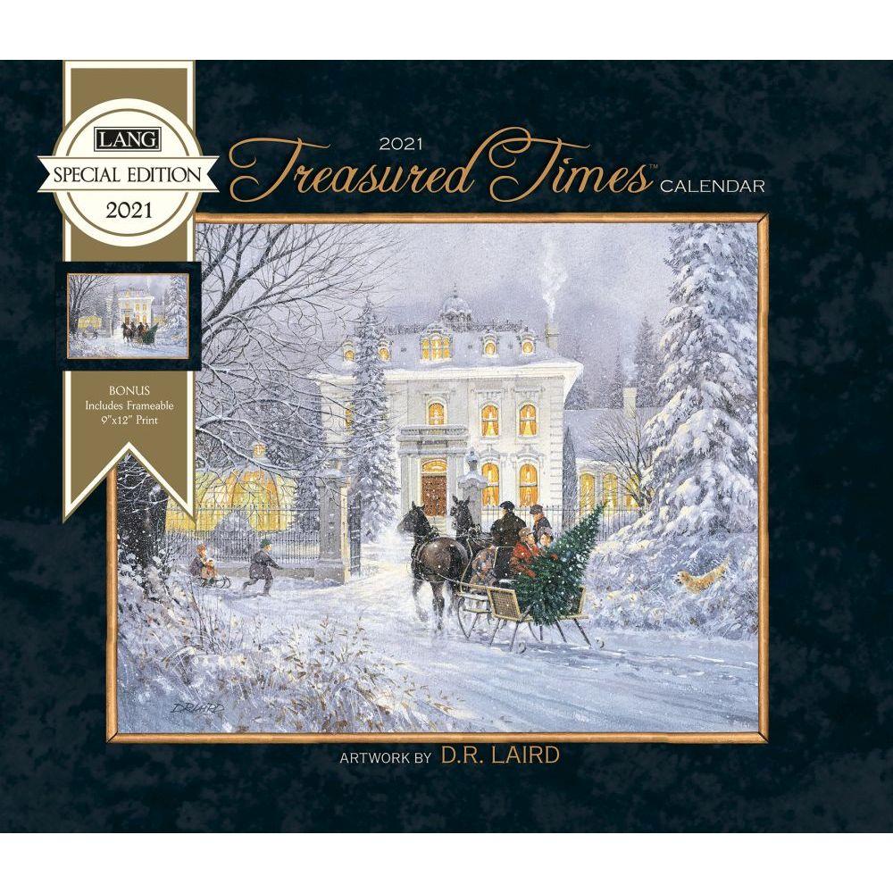 2021 Treasured Times Special Edition Wall Calendar