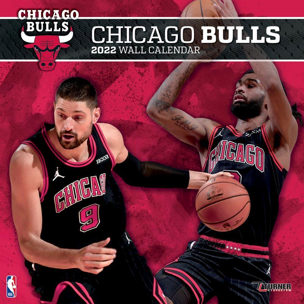 Chicago Bulls 2022 Wall Calendar