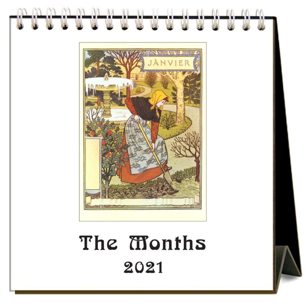 2021 Months Easel Calendar