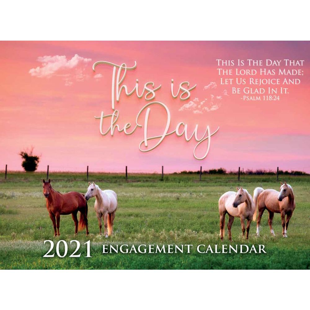 2021 This is the Day Wall Calendar