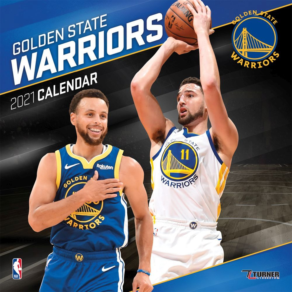 2021 Golden State Warriors Mini Wall Calendar