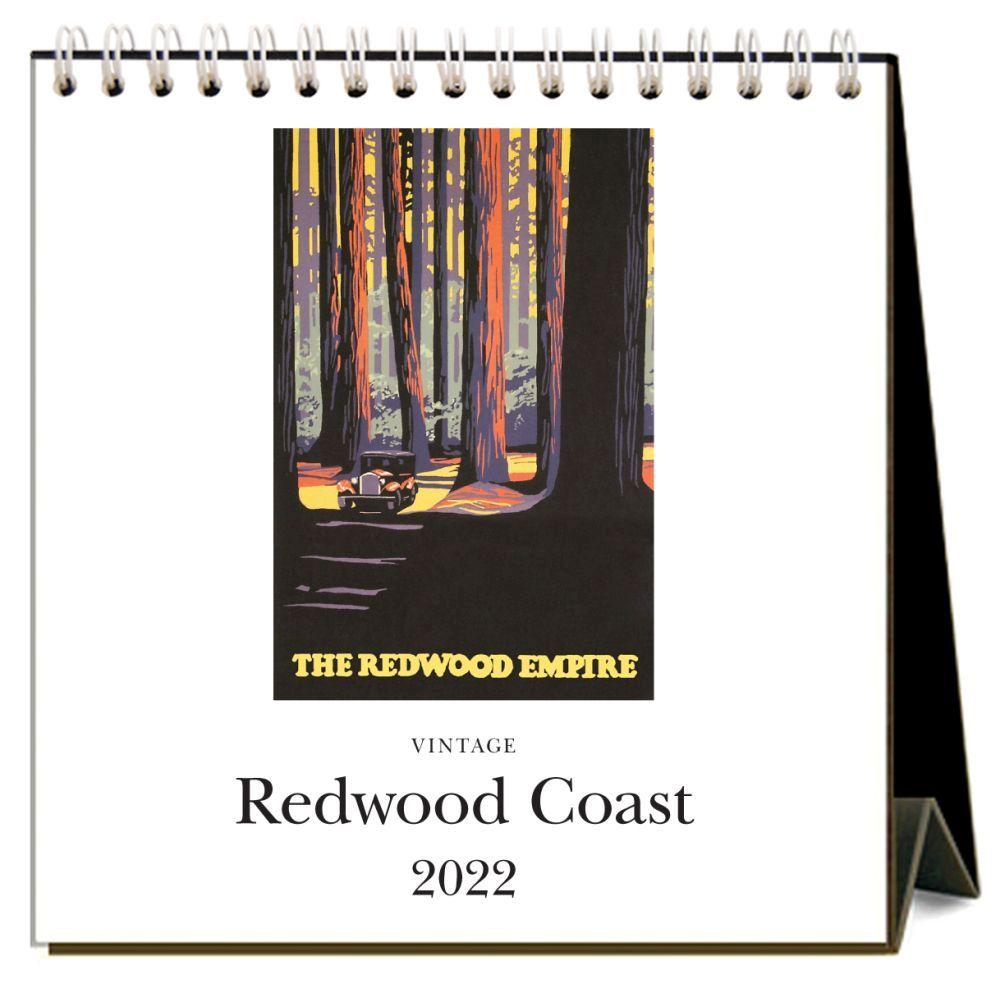 Redwood Coast 2022 Desk Calendar