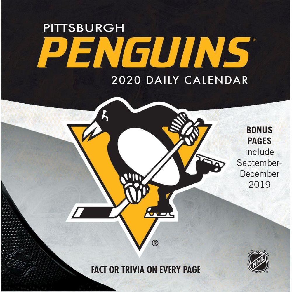 Pittsburgh Penguins 2021 Desk Calendar