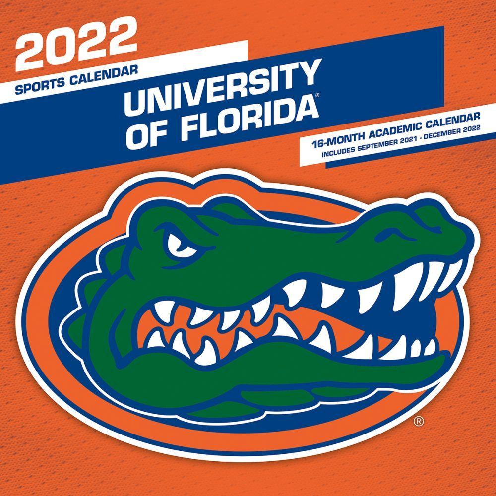 Florida Gators 2022 Wall Calendar