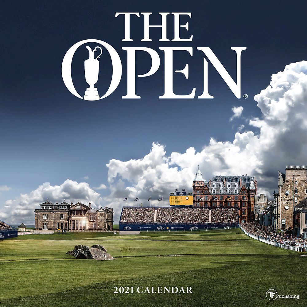 2021 The Open Wall Calendar