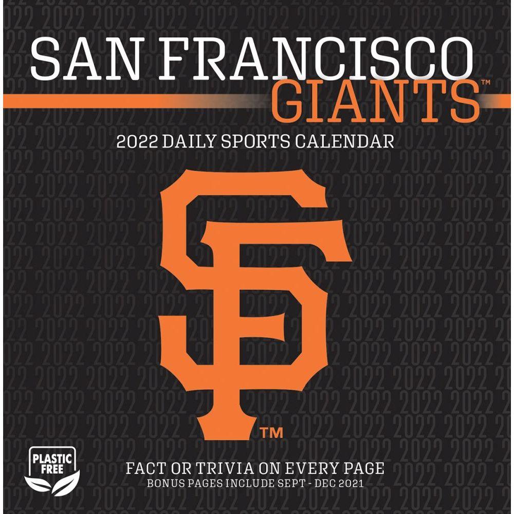 San Francisco Giants 2022 Desk Calendar