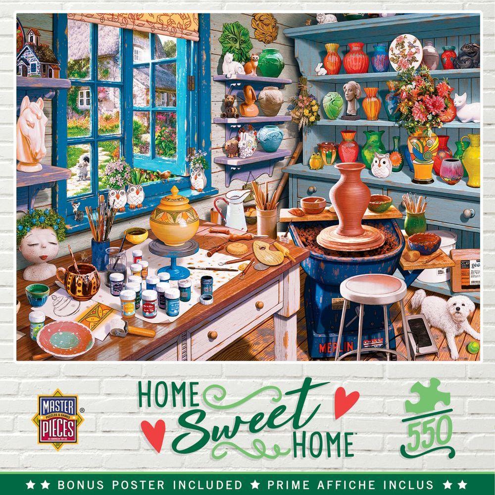 Best Garden Getaway 550pc Puzzle You Can Buy