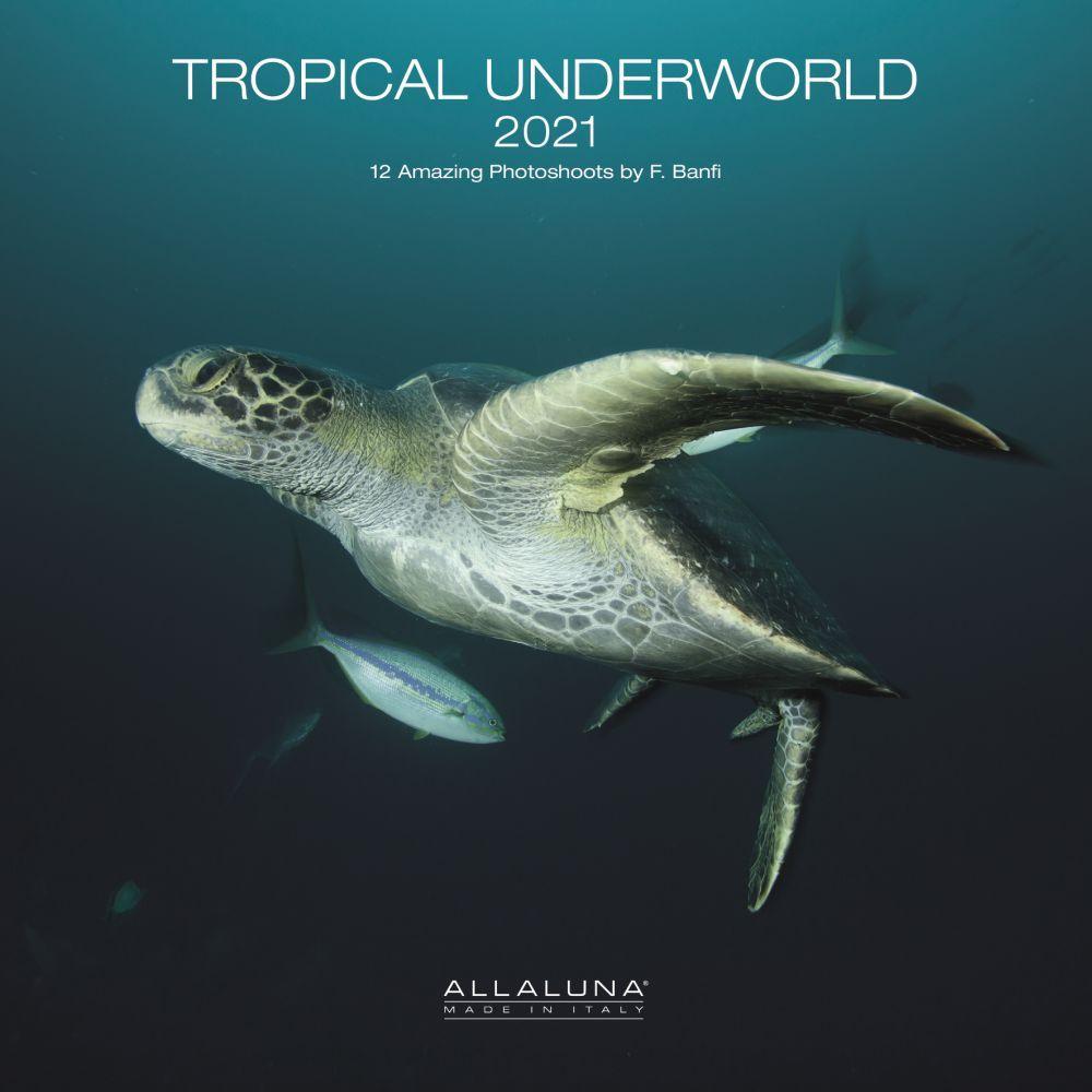 2021 Tropical Underworld Alla Luna Wall Calendar