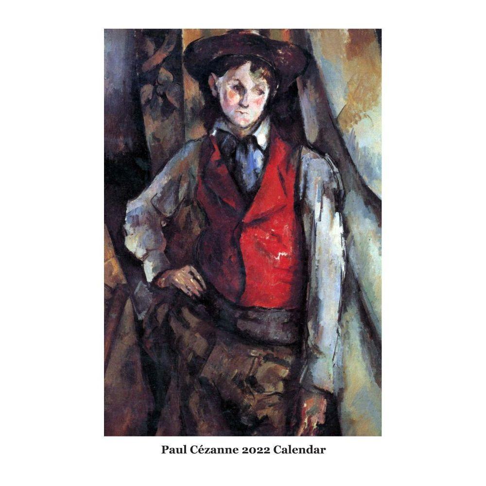 Paul Cezanne 2022 Wall Calendar