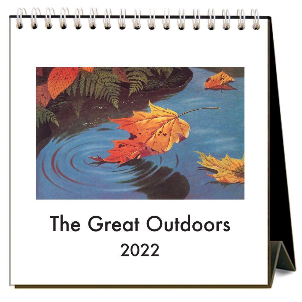 The Great Outdoors 2022 Desk Calendar