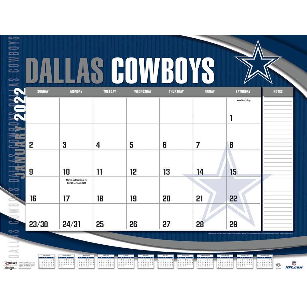 Dallas Cowboys 2022 Desk Pad