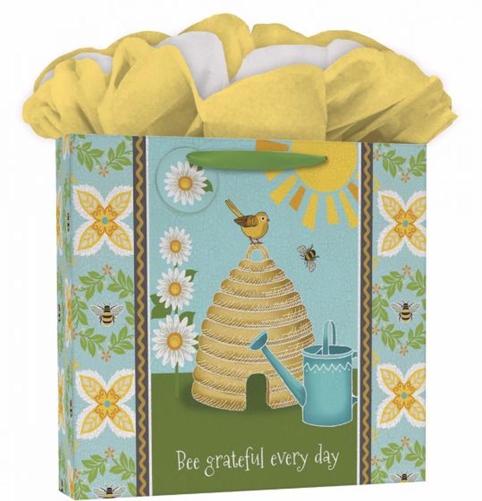2021 Garden Bee Calendar GoGo Gift Bag by Suzanne Nicoll