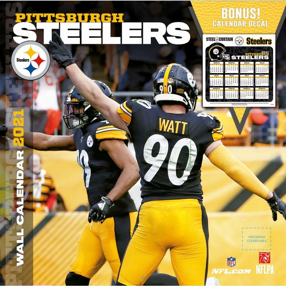 NFL Pittsburgh Steelers Bonus 2021 Wall Calendar