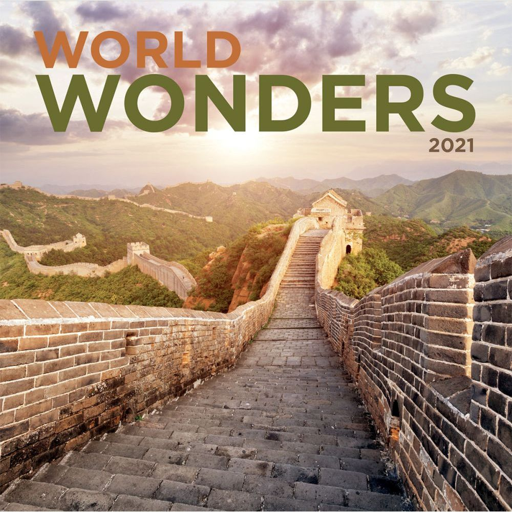 2021 World Wonders Mini Wall Calendar